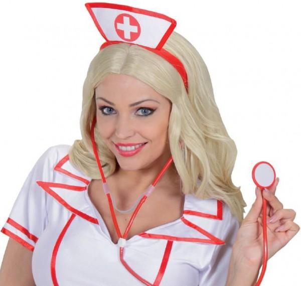 Roter Krankenschwester Haarreif