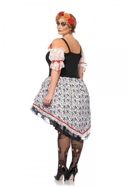 Robe en tulle Day of the Dead Lolita