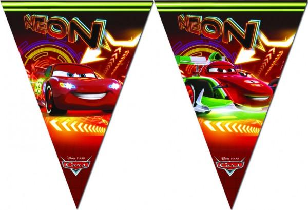 Cars Neon City Wimpelkette 2,3m