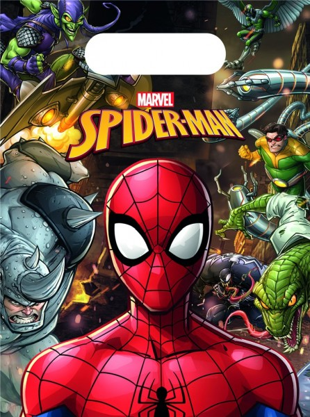 Spiderman Team Up 6 sacs cadeaux