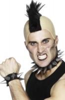 Punk Spitznieten Hals- & Armband Im Set