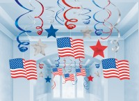 United States Of America Wirbel Hängedekoration