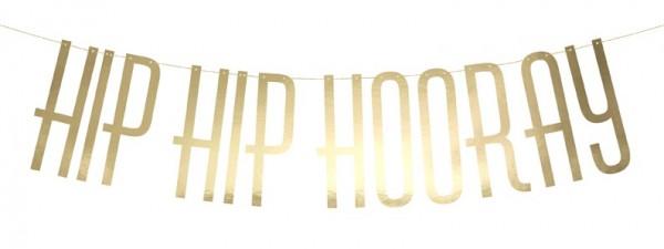 DIY Hip Hip Hooray Girlande 1,2m