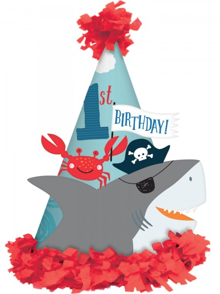 Sea ahoy party hat
