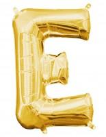 Mini Folienballon Buchstabe E gold 35cm