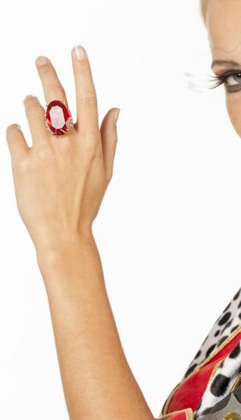 Rubin Schmuckstein Ring