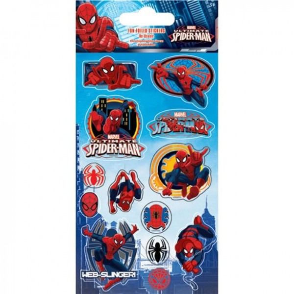 Spider Man Foliensticker
