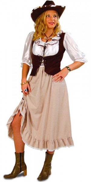 Wild West Saloon Lady Damenkostüm 1