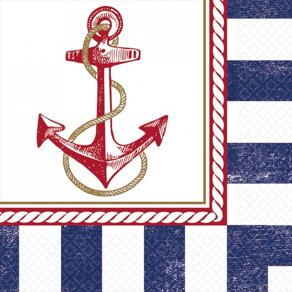 16 Maritime Sommer Servietten 33cm