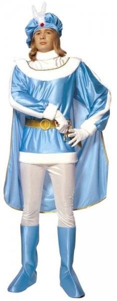Blaublütiges Prinzen Kostüm