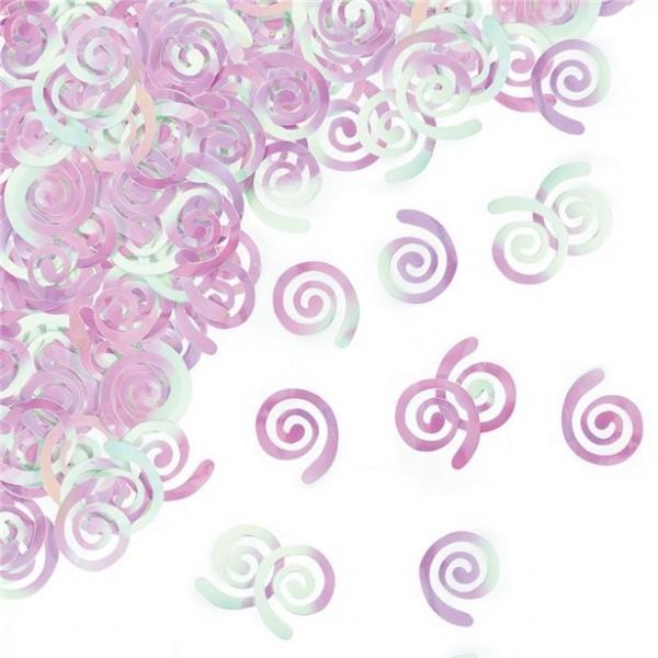 Perlmutt Spiralen Streudeko 14g