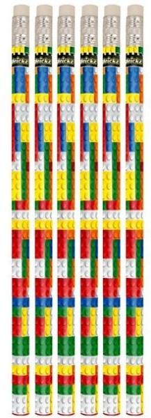 6 Baustein Bleistifte