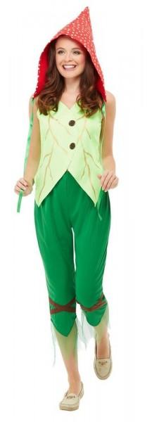 Waldpilz Elfen Kostüm für Damen