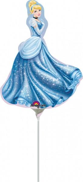 Cinderella stick balloon