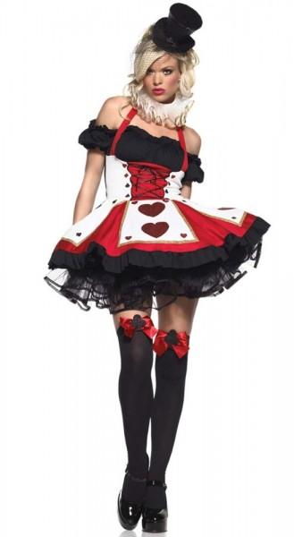 Sexy Herzdame Miri Kostüm Für Damen