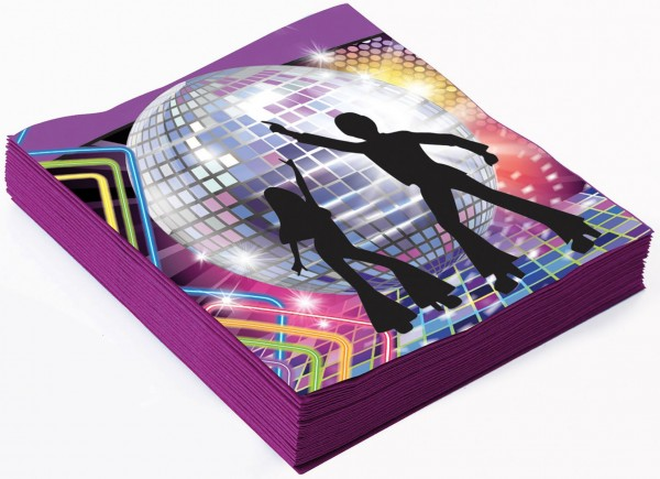 Große Disco Fever Servietten 1