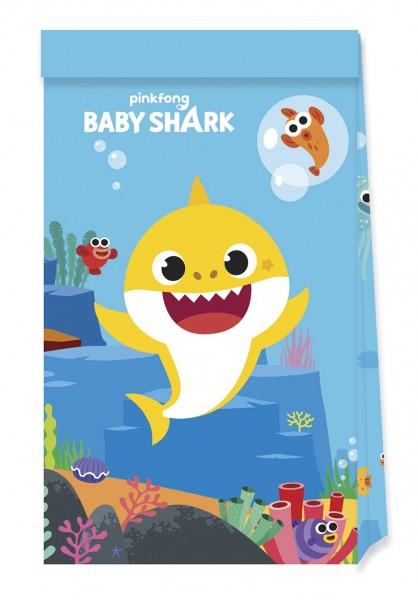 4 FSC Baby Shark Badespaß Geschenktüten