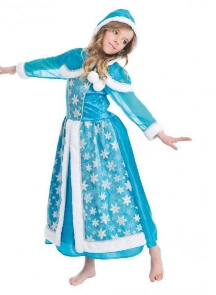 Prinzessin des Winters Kinderkostüm