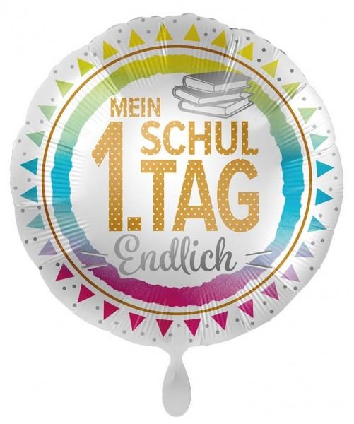 Mein erster Schultag Folienballon 43cm