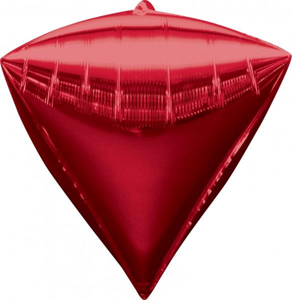 Globo de diamante rojo