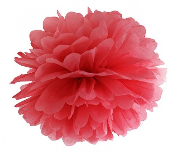 Pompon Romy red 35cm