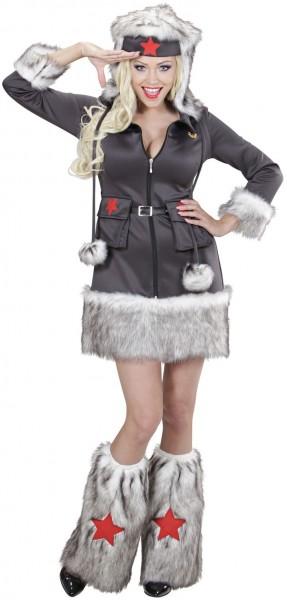 Russische Soldatin Valeria Kostüm