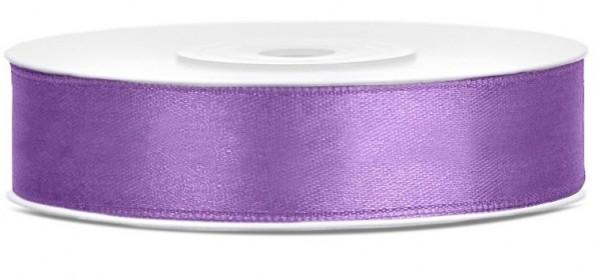 25m satin ribbon lavender 12mm wide