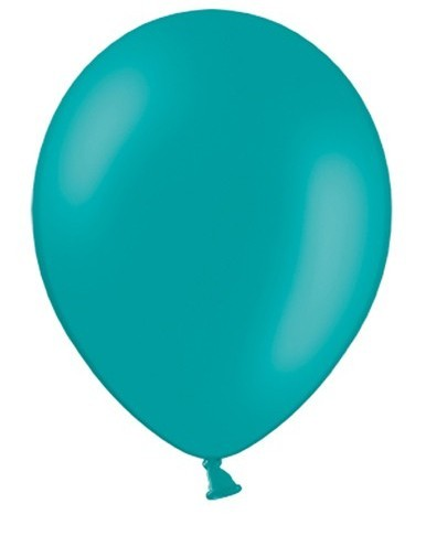 50 Ballons Türkis 27cm