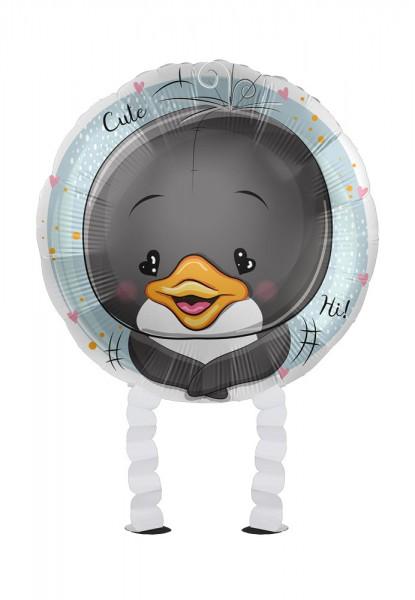Kleiner Pinguin Airwalker Folienballon 43cm