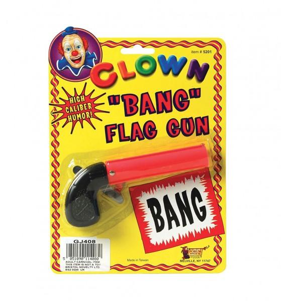 Bang Flagge Scherz Pistole