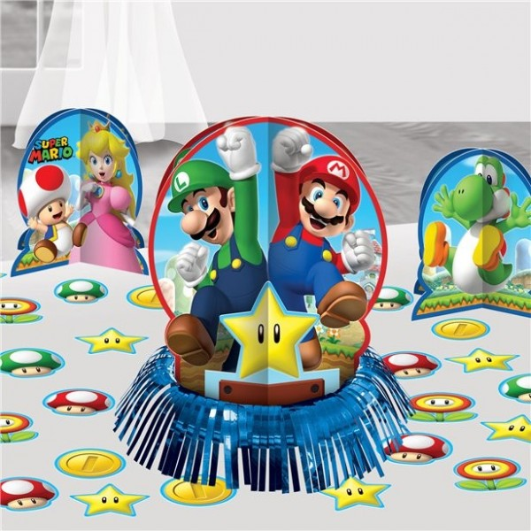 Super Mario World table decoration set
