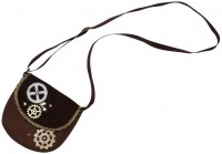 Viktorianische Handtasche Braun