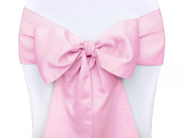 10 Satin Schleifen Maria leuchtend pink 15x275cm 1
