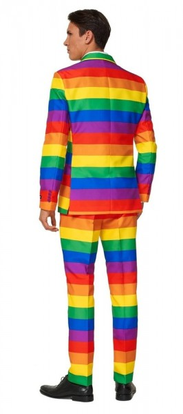 Completo uomo arcobaleno