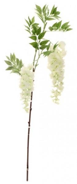 Weiße Wisteria Kunstblume 90cm