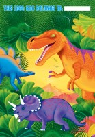 Dino World Geschenktüte 14x11,7cm