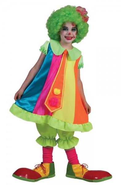 Schrille Shelly Clown Kinderkostüm