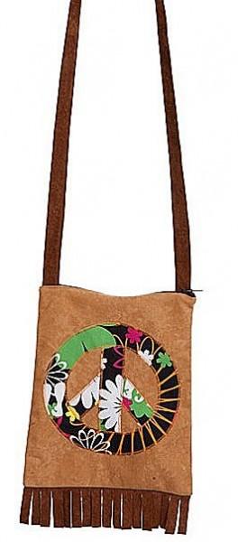 Hippie Peace Zeichen Handtasche