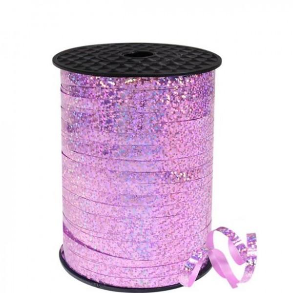 Cinta anilla holográfica, rosa 228m
