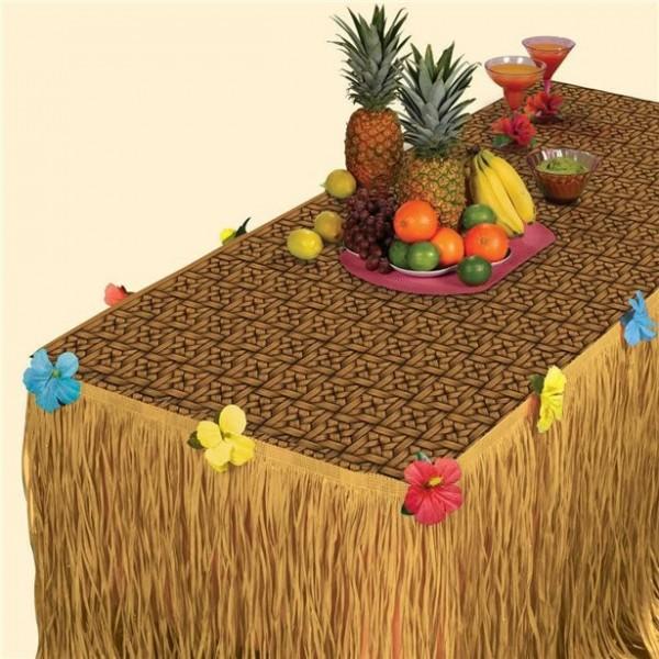 Set de decoración de mesa Hawaii 2 piezas