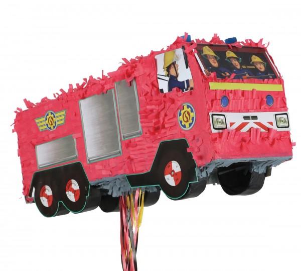 Train pinata fire engine