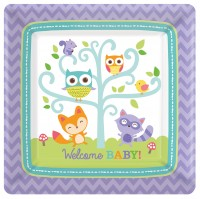 8 Partytime Teller Welcome Baby 17,7cm