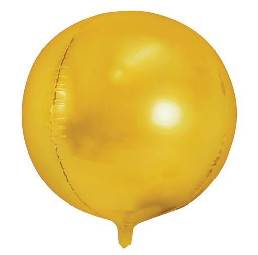 Ball balloon Partylover gold 40cm