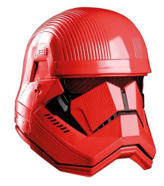 Czerwona maska Szturmowiec Star Wars