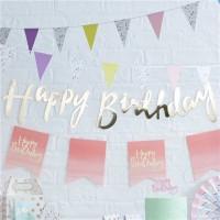 Birthday Blush Girlande 1,5m