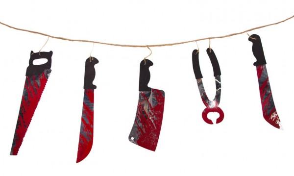 Ghirlanda per utensili per camera di tortura 1,8 m