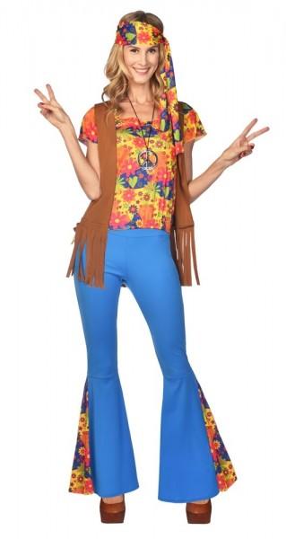 Hippie Girl Clair Damenkostüm