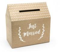 Haus Kartenbox Just Married