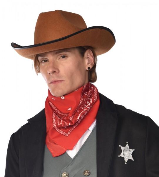 Klassisches Cowboy Halstuch rot