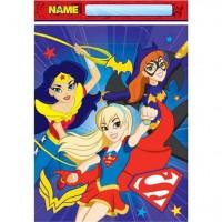 8 DC Super Hero Girls Geschenktüten